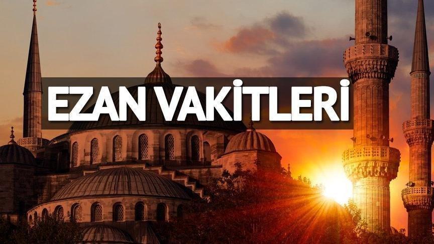 Cuma namazı saat kaçta? Cuma ezanı kaçta okunacak? 26 Ekim 2018 İstanbul, Ankara, İzmir ezan vakitleri…