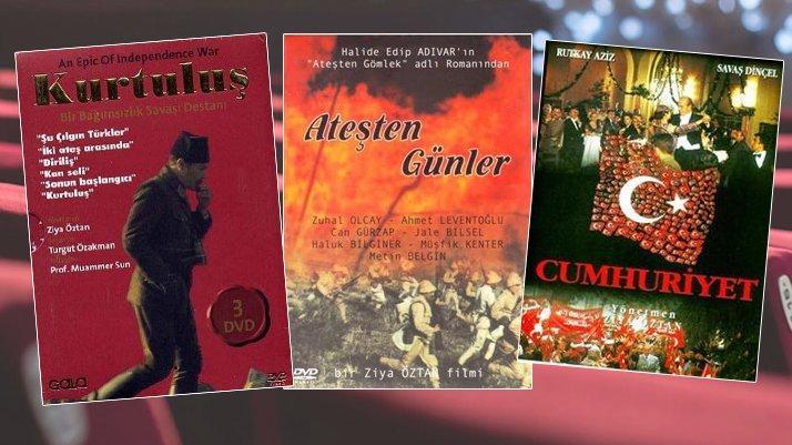 29 Ekim Cumhuriyet Bayramı ve Milli Mücadele ile ilgili filmler…