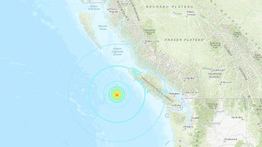 Kanada'da peş peşe depremler: Önce 6.7 sonra 7.0 şiddetinde