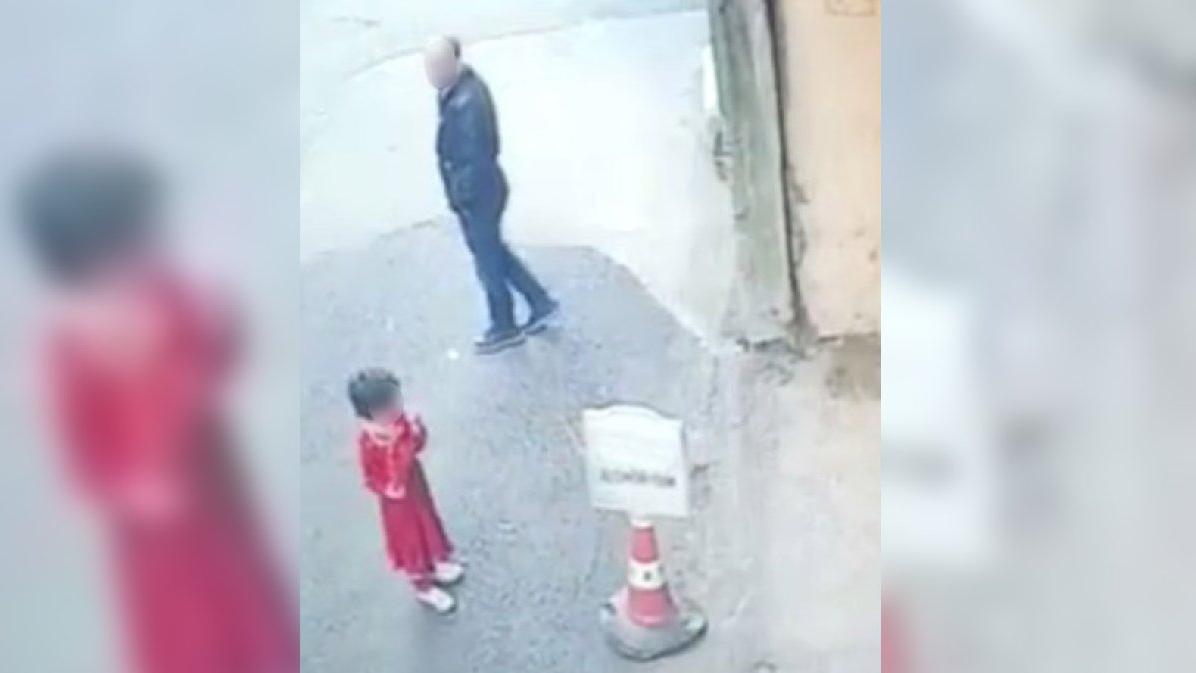 İğrenç olay güvenlik kamerasıyla ortaya çıktı... Gelen tepkiler üzerine yeniden gözaltına alındı!