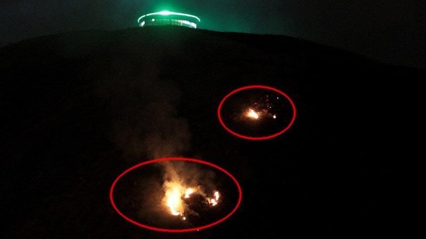 Erzurum'daki yangında kundaklama iddiası