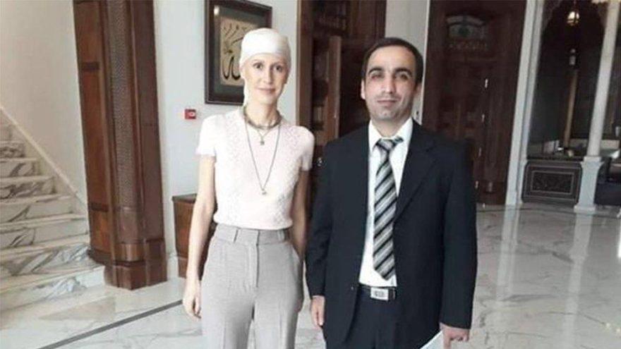 Kanser tedavisi gören Esad'dan kemoterapi sonrası ilk fotoğraf