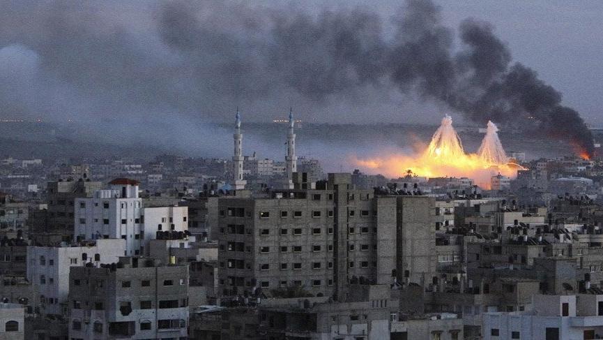 Suriye'de fosfor bombası kullanıldığı iddia edildi