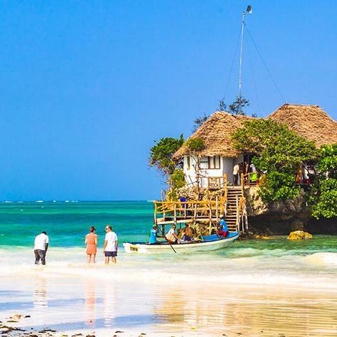 Afrika'nın bembeyaz plajları