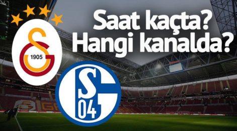Galatasaray Schalke maçı hangi kanalda? Heyecanlı bekleyiş! İşte dev maçın saati ve kanalı...