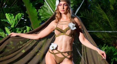 Gigi Hadid ve Solomon Diaz Versace için Eros ve Psyche oldu