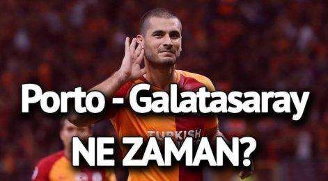 Porto Galatasaray maçı saat kaçta hangi kanalda? Şifreli mi şifresiz mi? Aboubakar yerine Otavio...