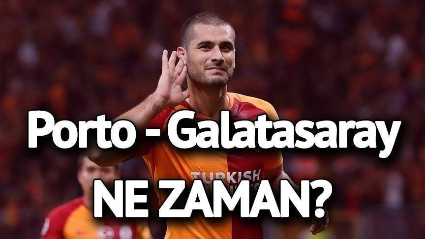 Porto Galatasaray maçı saat kaçta hangi kanalda? Şifreli mi şifresiz mi? Aboubakar yerine Otavio…