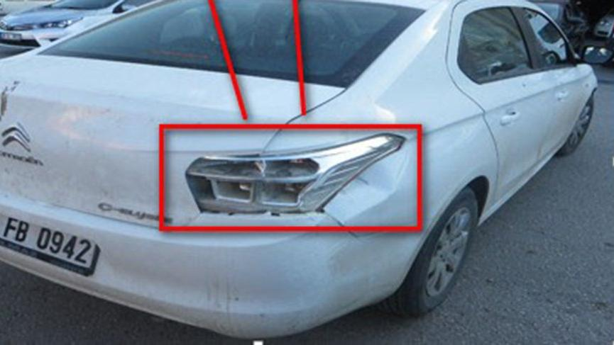 Polis, otomobilin kırık stop lambasından yola çıkarak hırsızları yakaladı