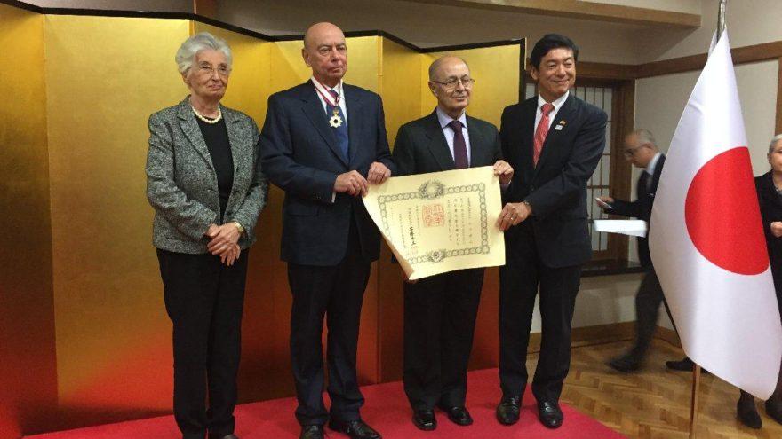 Büyükelçi Atacanlı'ya Japon madalyası
