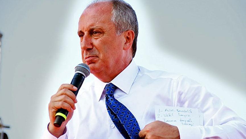 SON DAKİKA… Muharrem İnce'den Brunson teşekkürüne sert eleştiri