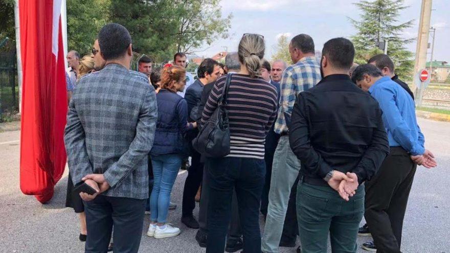CHP'liler destek için gitti ama işçiler 'görünmedi'