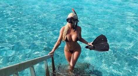 Jelena'nın cesur tatil bikinileri