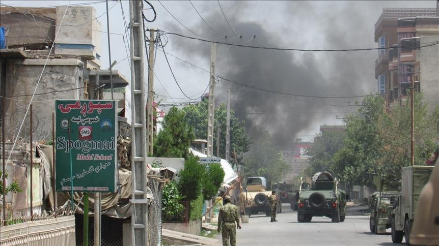 Afganistan'da seçim ofisine intihar saldırısı: 8 ölü