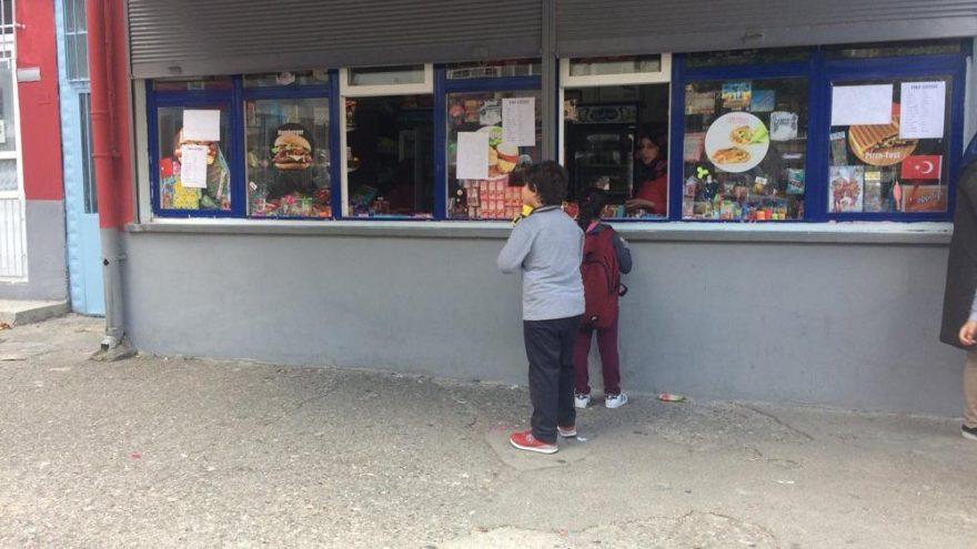 Okul kantini değil sanki süpermarket