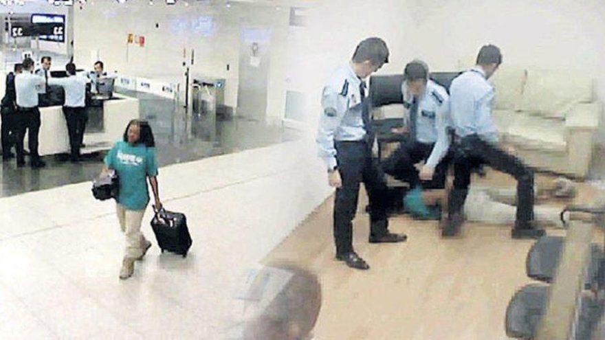 ABD'li kadının havalimanındaki ölümüne 'ölçüyü aşan kuvvet' sebep olmuş