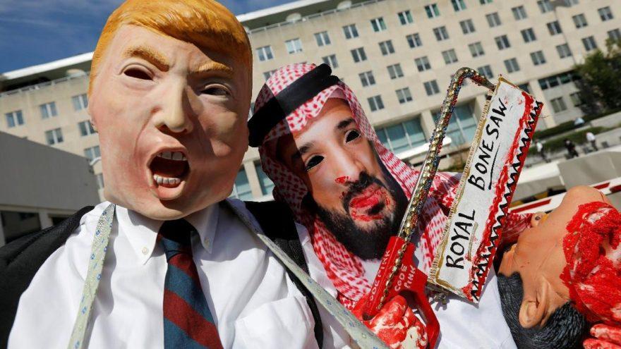 Bu görüntüler Beyaz Saray önünden… Tepkiler artıyor