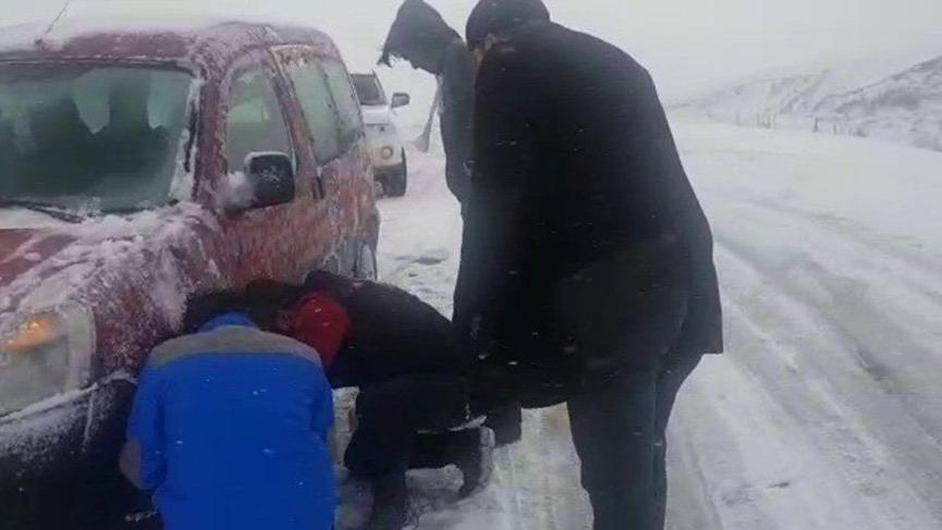 Doğu'da kış hazırlıksız yakaladı