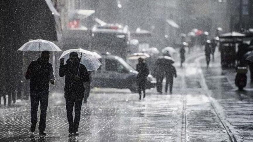 Meteoroloji'den hava durumu açıklaması: Kuvvetli sağanak yağış geliyor!