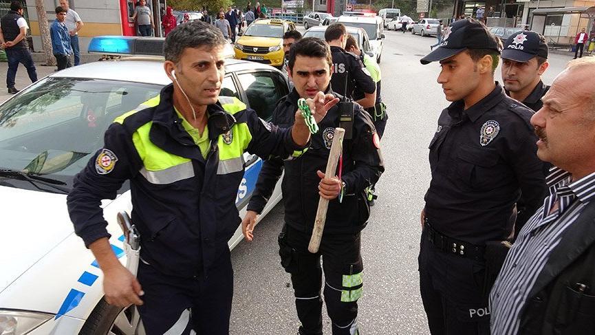 Laf atma kavgası sonucu 4 kişi gözaltına alındı