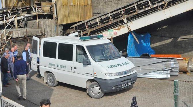 İnebolu Limanı'nda feci iş kazası: 1 ölü
