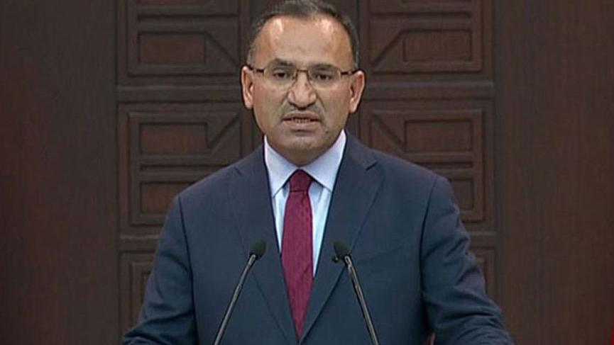 AKP'li Bozdağ: Tehdide muhatap oldum
