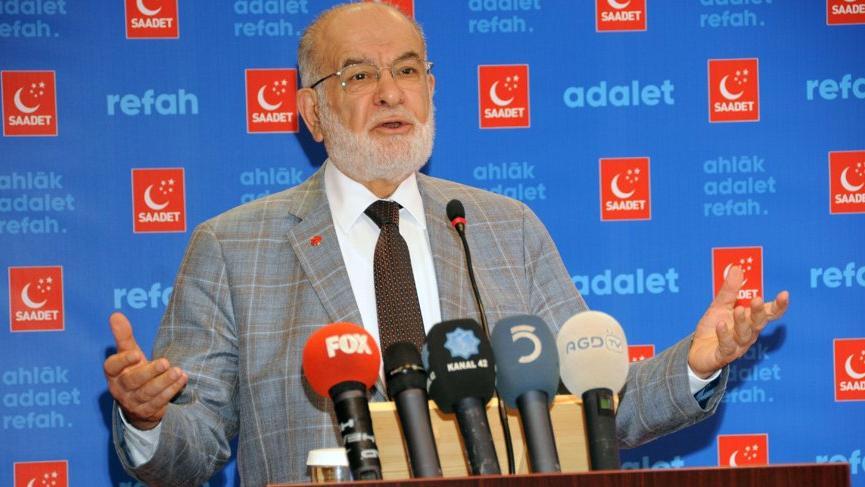 SP Genel Başkanı Karamollaoğlu: Hükümet fırsatçılık yapıyor