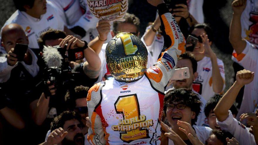 2018 MotoGPTM Dünya Şampiyonu'na özel tasarım!