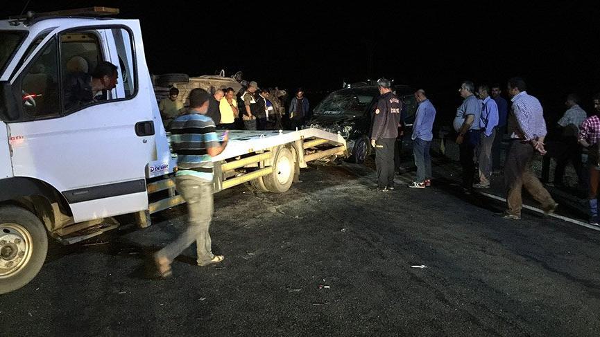 Mardin'de meydana gelen kazada 14 kişi yaralandı!