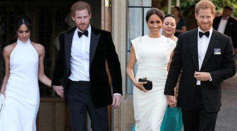 Meghan Markle ve Prens Harry'nin düğünden 5 ay sonraki görünümleri şaşırttı