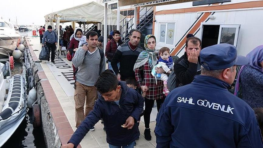 Türkiye 1 milyon mülteci yakaladı
