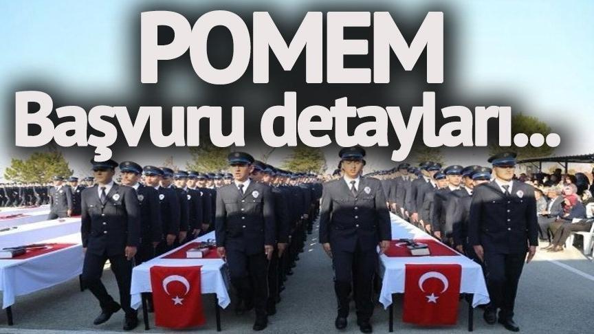 Polis alımı 2018: POMEM başvuru ekranı! Polis Akademisi polis alımı başvuru şartları neler?