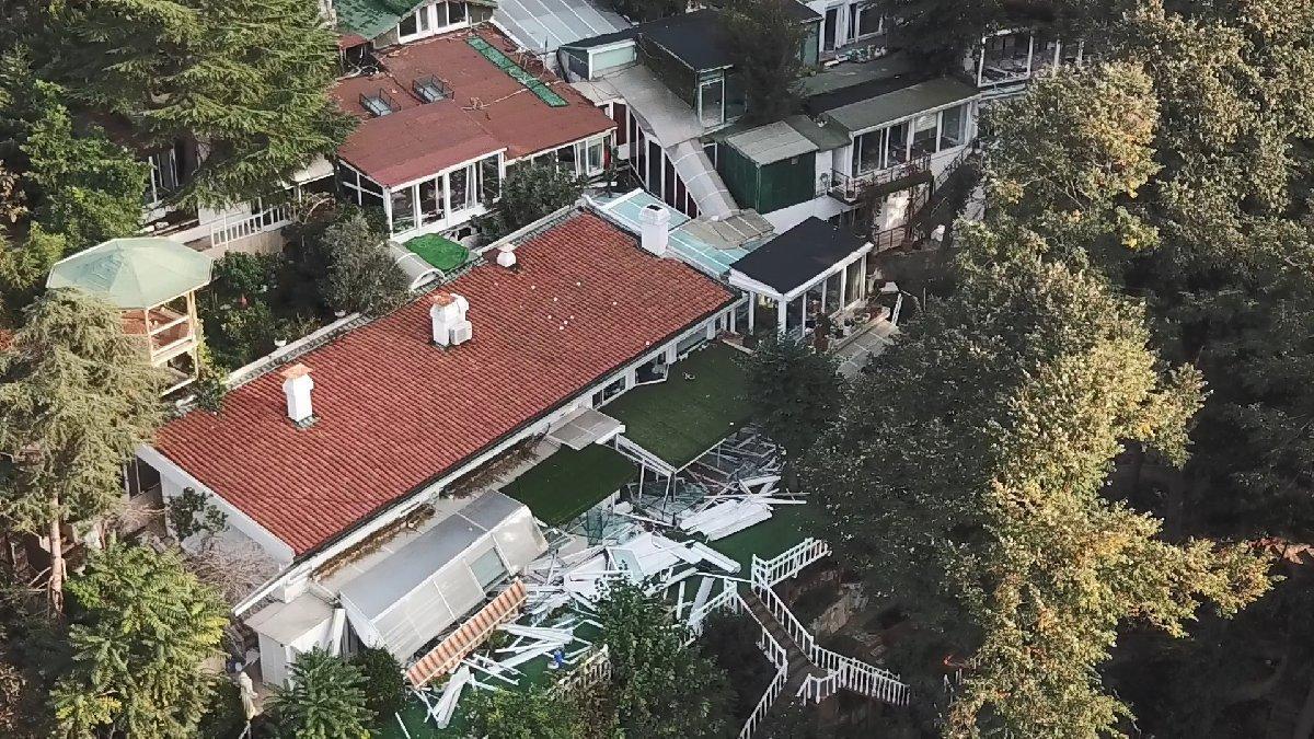 Adnan Oktar'ın villasında kaçak kısımlar yıkıldı