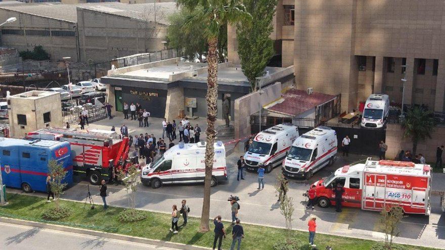 İzmir Adliyesindeki gaz sızıntısından etkilenen bir kişi hayatını kaybetti ile ilgili görsel sonucu