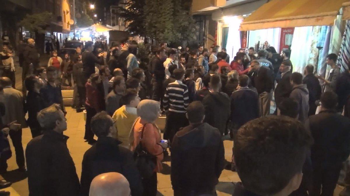 İstanbul'da 'taciz' gerginliği!