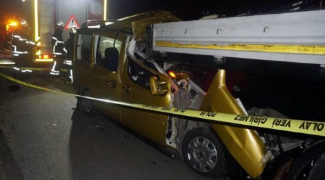 Tekirdağ'da feci kaza: İki kişi öldü