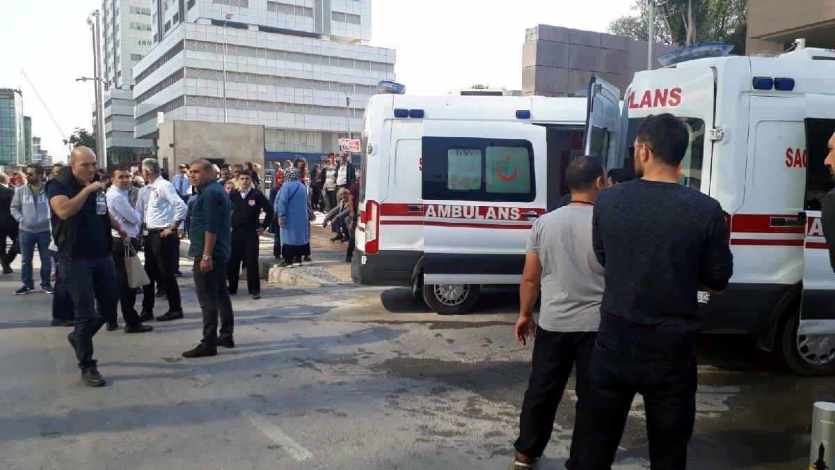 İzmir Adliyesi'nde gaz alarmı: Biri ağır 14 yaralı