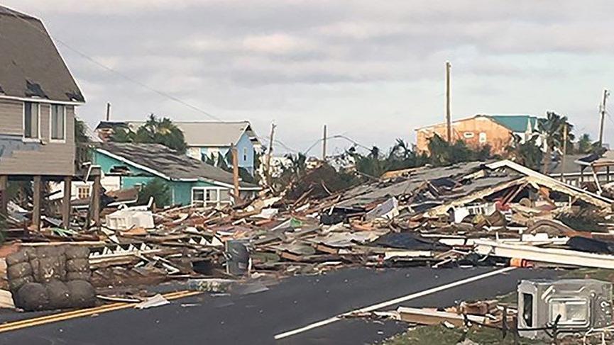 Micheal Kasırgası'nın vurduğu Florida yaralarını sarmaya çalışıyor