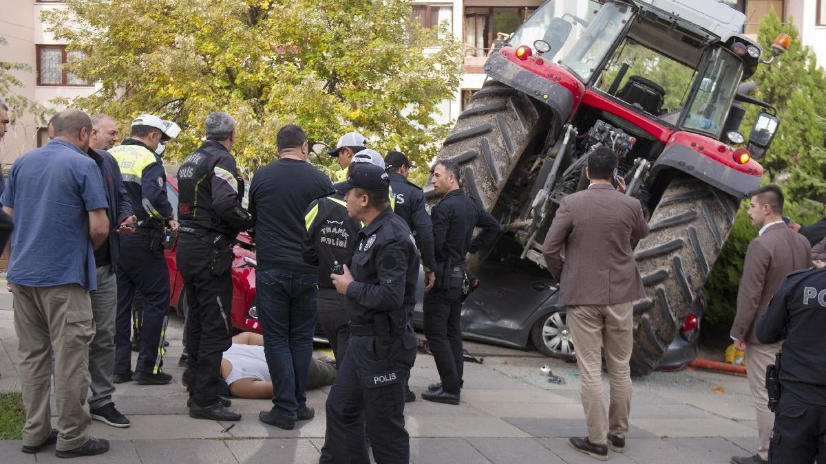 Ankara'yı karıştıran 'traktör' böyle durduruldu