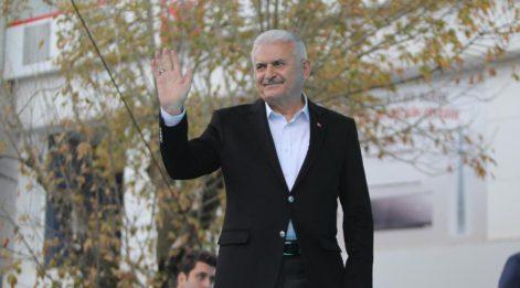 TBMM Başkanı Yıldırım, Gebze-Darıca metro hattının temel atma törenine katıldı