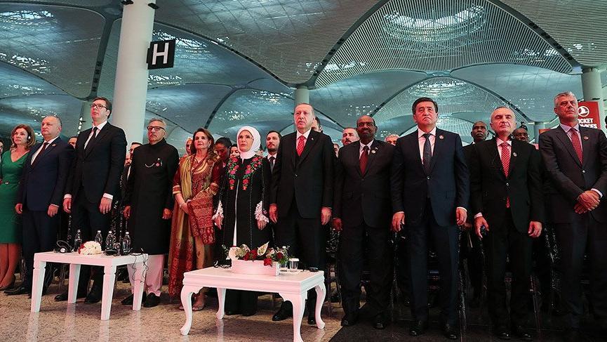 İstanbul Havalimanı'nın açılış töreni gerçekleşti