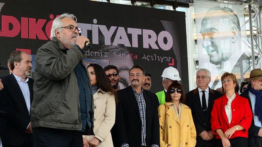 Kadıköy Tiyatrosu'nun temeli sanatçılarla atıldı