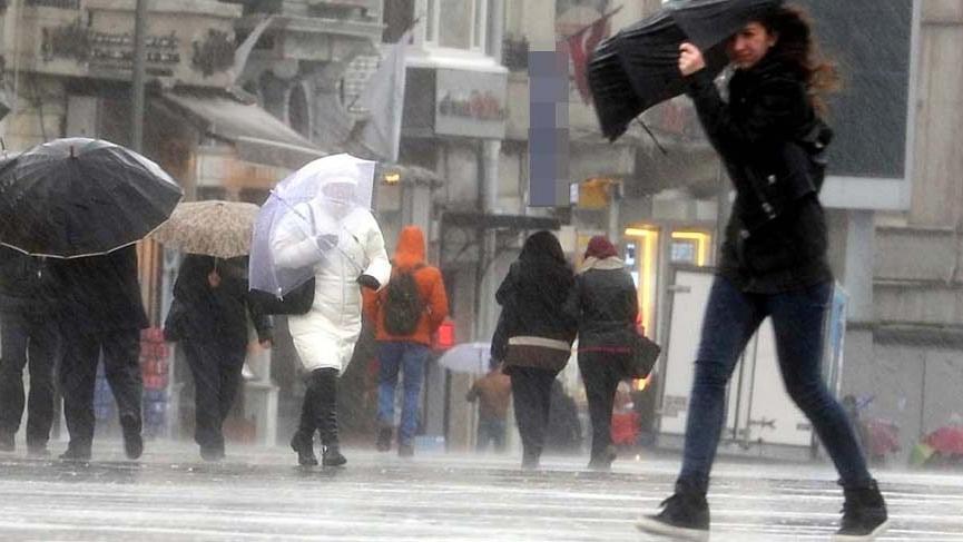Son dakika: İstanbul yağmurla uyandı! Yağışlar ne zaman bitecek?