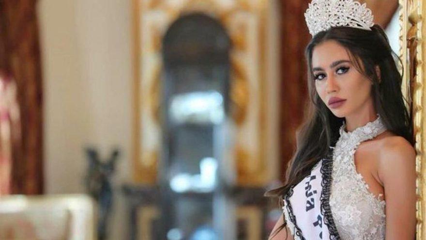 Lübnanlı güzelin başını yakan fotoğraf… Unvanı elinden alındı!