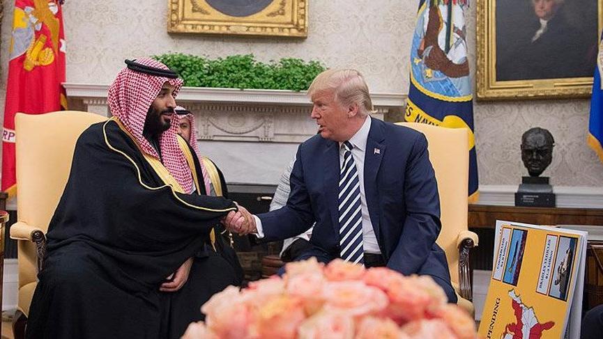 Trump, Suudi Prens Selman ile görüştü