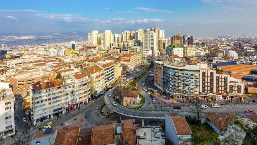 Bursa'da hava kirliliği ulusal sınırın 5 kat üzerinde