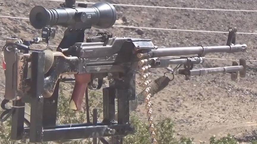 Suriye'de IŞİD korkusu robot yaptırdı