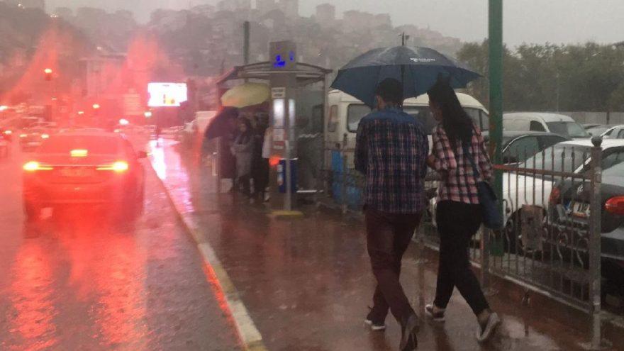 Son dakika: Meteoroloji 11 şehri uyardı! Sağanak yağış etkileyecek…