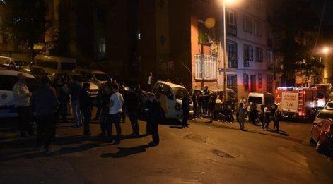 İstanbul Şişli'de çökme tehlikesi! Binalar tahliye edildi