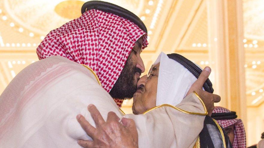 Suudi veliat prensi ile Kuveyt şeyhi bir araya geldi